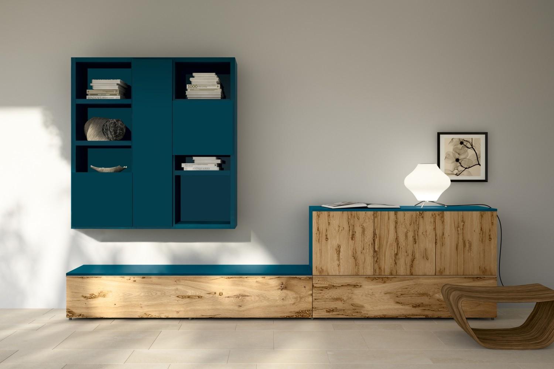 Soggiorni moderni for Arredamento colorato