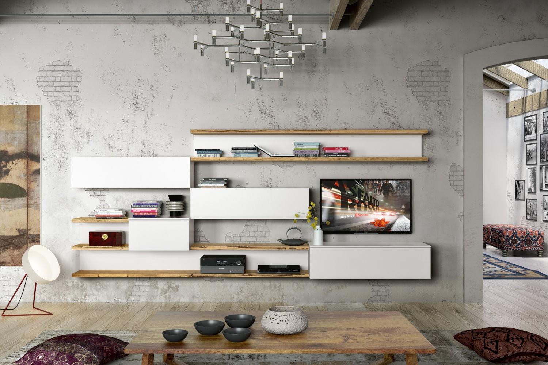 Soggiorni moderni for Parete sala